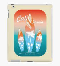 Beach Surfing California retro style iPad Case/Skin