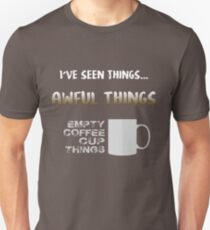 Empty coffee cup things T-Shirt
