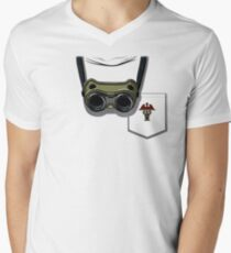 PhD in Horribleness Men's V-Neck T-Shirt