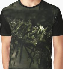 Lone Snowflake in the Night Graphic T-Shirt