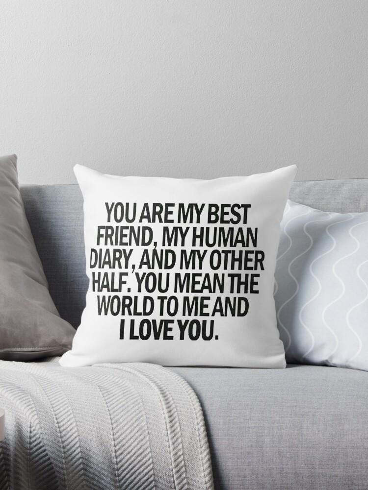 i love u my best friend by latifakadhafi