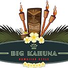 Big Kahuna with Tiki by Frank Schuster