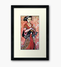 Chinese influences. Framed Print