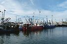 Fishing Boats, New Bedford, MA by Trish Meyer