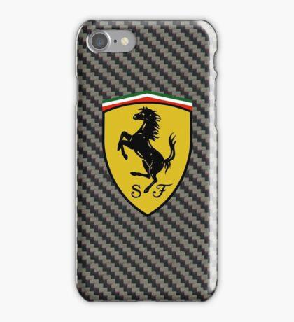 Carbon Fiber Ferrari Design Case iPhone Case/Skin
