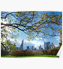 Autumn in New York City  Poster