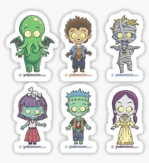 """Little Monster Mini's"" Sticker Sheet 1of2 Sticker"