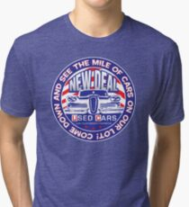 New Deal Used Cars Tri-blend T-Shirt