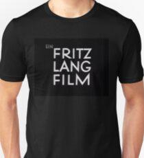Ein FRITZ LANG FILM Unisex T-Shirt