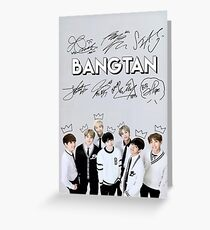 [SIGNATURE] BTS Kings Edit Greeting Card