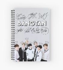 [SIGNATURE] BTS Kings Edit Spiral Notebook