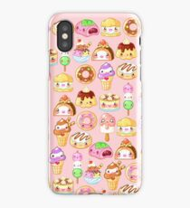 Kawaii Desserts  iPhone Case