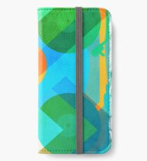 Abstract Vinyl Record Turntable iPhone Wallet/Case/Skin