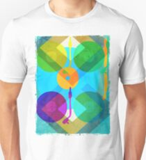 Abstract Vinyl Record Turntable T-Shirt