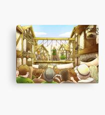 The Army Of God Captures London Canvas Print