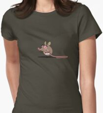 Mr. Elephant Womens Fitted T-Shirt