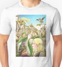 Robin Hood Marches Into London Unisex T-Shirt