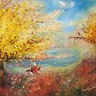 """ Sunny Autumn Swing "" by Agnieszka A. Jargiello"
