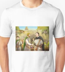 Robin Hood And The Captain Of The Guard Unisex T-Shirt