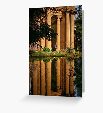 Classical Reflection Greeting Card