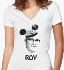 The Roy of RCID Women's Fitted V-Neck T-Shirt