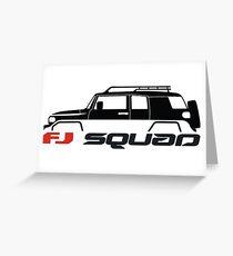 FJ Squad for FJ Cruiser fans Greeting Card