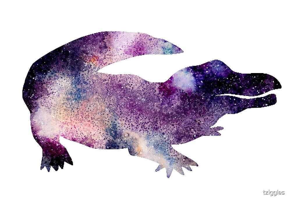 Galaxy Gator by tziggles
