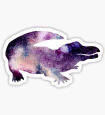 Galaxy Gator Sticker