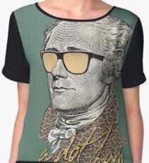 Alexander Hamilton - A dot Ham Chiffon Top