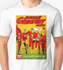America's Best Comics no.1 Golden Age Fawcett Heroes T-Shirt
