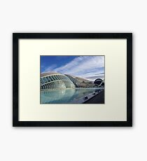 Valencia City of Arts and Sciences Framed Print