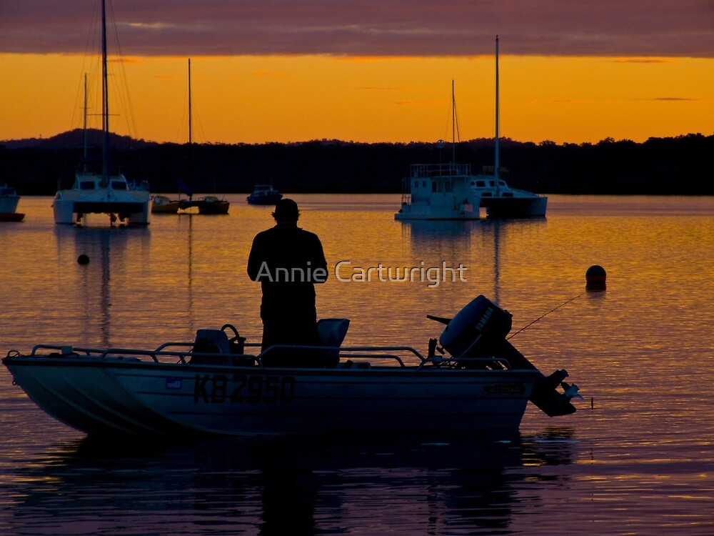 GONE FISHIN' by Annie Cartwright