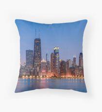 Chicago-Ufergegend Dekokissen
