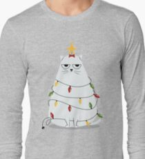 Grumpy Christmas Cat T-Shirt
