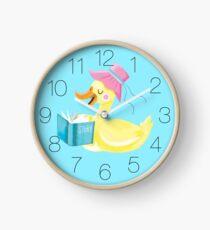 Mutter Ente lesen Geschichte Zeit Uhr