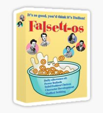 Falsettos Cereal Sticker Sticker