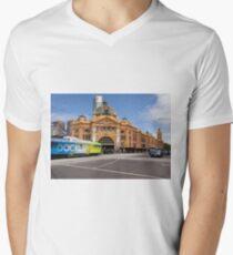 Flinders to Docklands Men's V-Neck T-Shirt