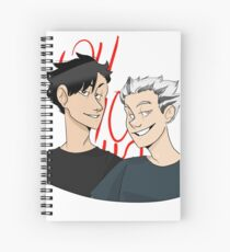 Oh Ho Ho!! Spiral Notebook