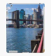 Vinilo o funda para iPad Brooklyn Bridge, New York, USA.