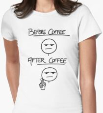 Before Coffee After Coffee T-Shirt