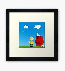 #peanuts Framed Print