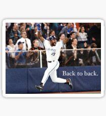 Toronto Blue Jays Back to Back Sticker