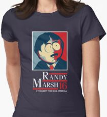 Randy Marsh 16 - I Thought This Was America Women's Fitted T-Shirt