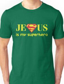Jesus Is My Superhero Unisex T-Shirt