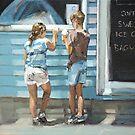 Beach Kiosk III by Claire McCall