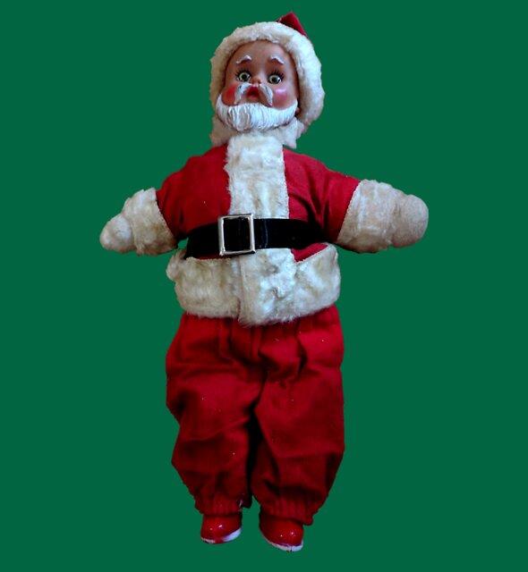 Gruselige Weinlese Weihnachtsmann 2 von hilda74
