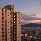 Daejeon City, South Korea by koreanrooftop