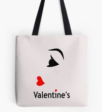 My Funny Valentine design Tote Bag