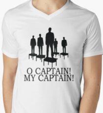 Dead Poets Society - O Captain My Captain Men's V-Neck T-Shirt