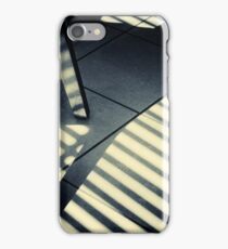 Shadow Slit Abstract iPhone Case/Skin
